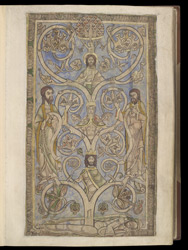 Tree of Jesse, in The Winchester Psalter